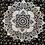 Thumbnail: Kotsa Cotton Single Mandala Bedsheets | Rangoli Design | Handmade Prints | B03