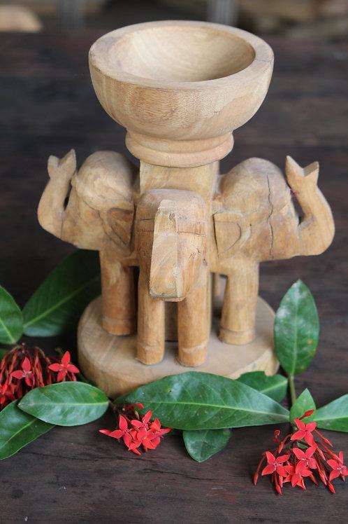Indian Vintage Unique Home Decor Decorative Quad Face Elephant