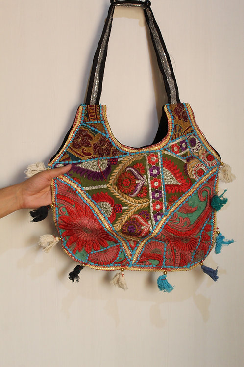 Kotsa Handmade Shoulder Boho Bags   Kotsa Gypsy Bag   Tribal Bag   KSB22