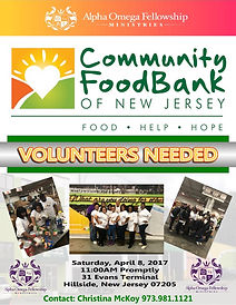 Community Food Bank of NJ