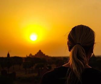 Bagan, sunrises and temples