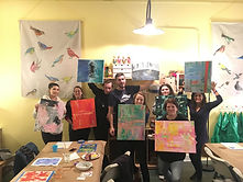 Abstract_paint_workshop_group_photo_Joy'