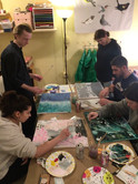 Abstract Paint Night