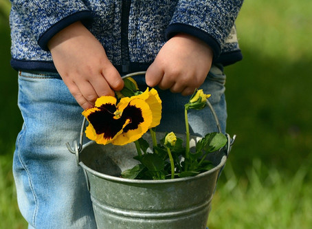 Gardening - A great activity for children