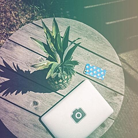 Dispositivos e abacaxi