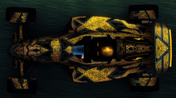 abstract Gold Skin