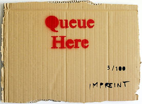 IMPREINT - en plein air - 'Queue Here' 3