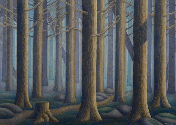 """Boreal Forest 13"""" x 17"""""""