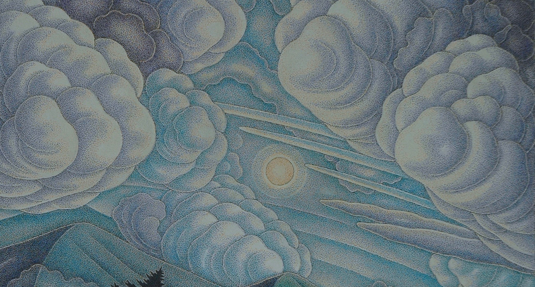 """Clouds of the Unknown 16"""" x 11"""""""