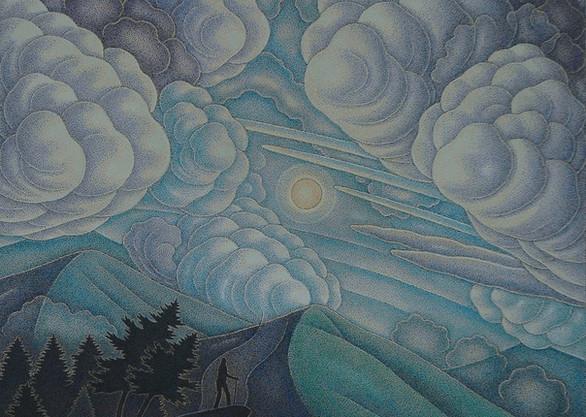 "Cloudland 8"" x 6"""