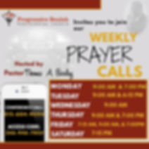 PBPC Weekly Prayer calls.jpg