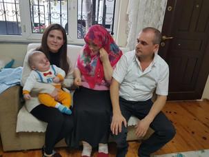 Mustafa Bebek İçin Topladığımız Yardımı Ulaştırdık.