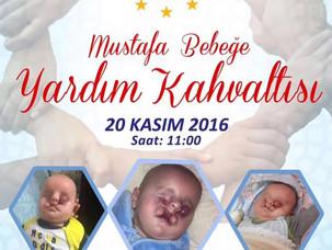 📢 Haydi Mustafa Bebek için el ele!📣