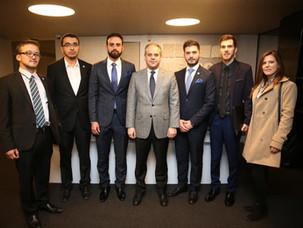 Gençlik ve Spor Bakanımız ile toplantı gerçekleştirdik.
