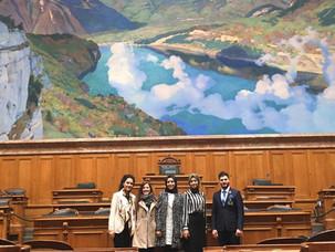 Ak Parti GM Gençlik Kolları ile İsviçre Parlementosu'nu Zİyaret Ettik.