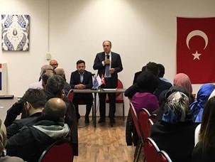 Mustafa Yeneroğlu UETD Ziyaretinde.