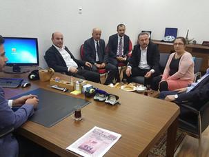 AK Parti Milletvekilleri UETD'yi Ziyaret Ettiler.