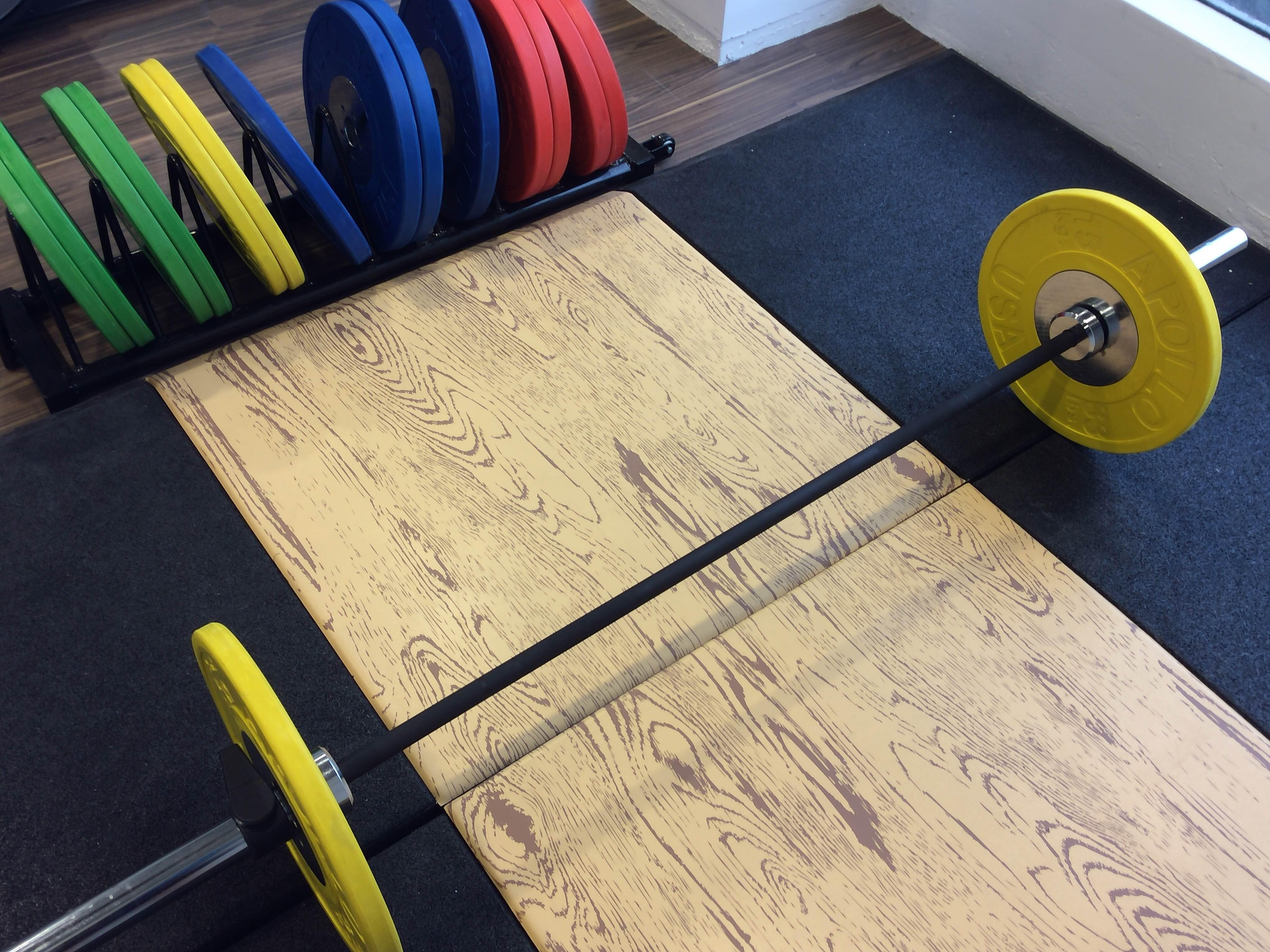 Weight Lighting Platform