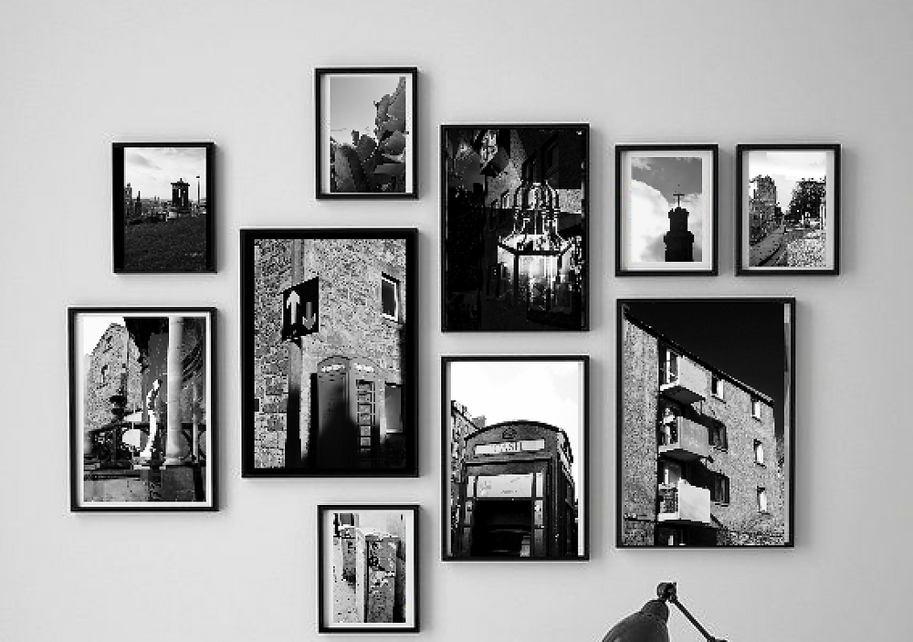 Black & White Photography Wall Art Design