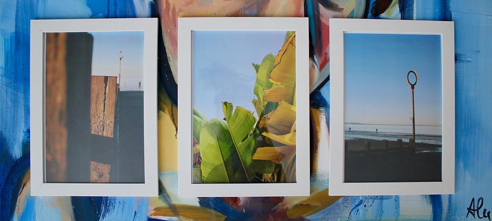 'Portobello', 'Oasis', 'Hoop' A4 Prints