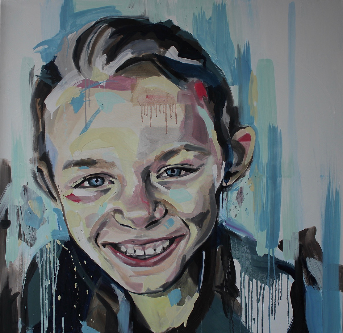 100 by 100cm canvas, 2016