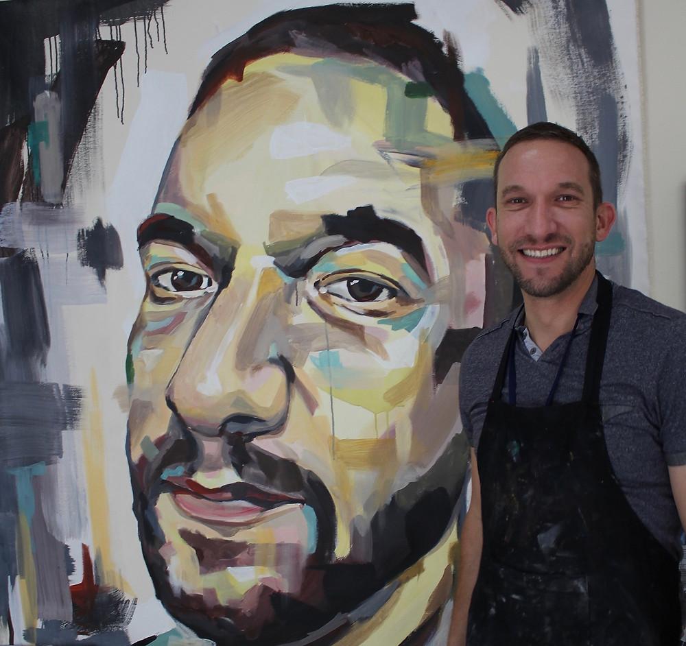 mural portrait