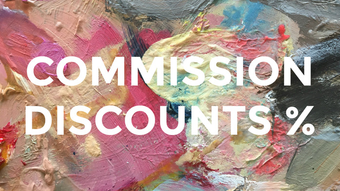 Summer 2017 COMMISSION DISCOUNTS!