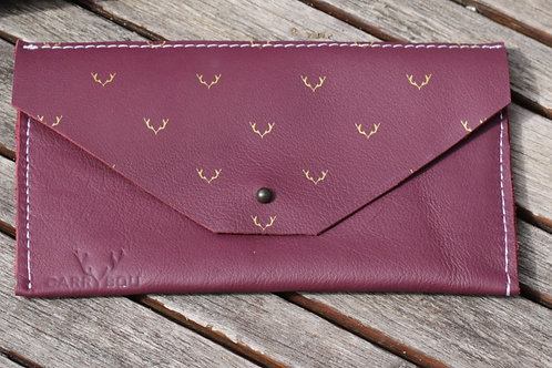 "Portefeuille violet collection ""gold"""