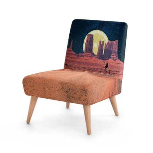 Square Chair in Lemon Sunset