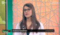 girgia visentini ospite d Elisa Isoardi a Buono a sapersi su rai1