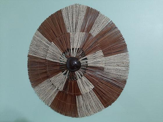 Mandala em Fibra de Açaí