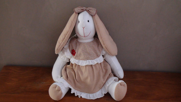 Boneca Coelha Lila