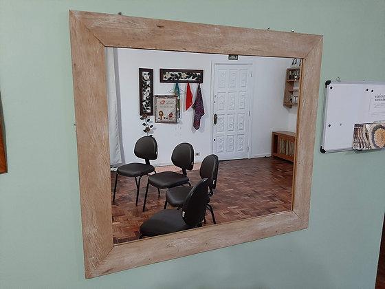 Espelho Moldura Demolição Lisa