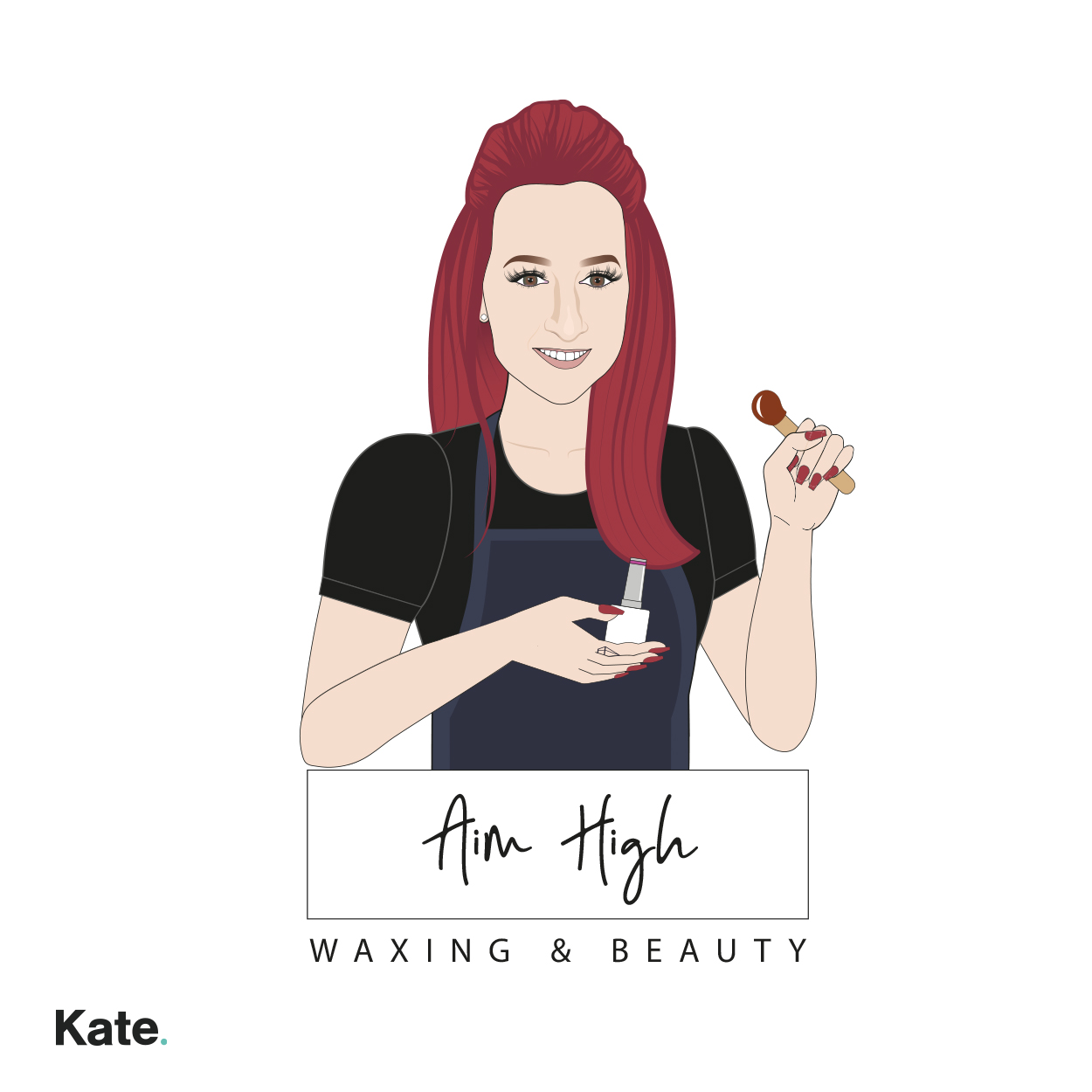 Aim High Waxing and Beauty Logo