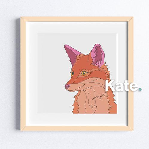 Original Fox print