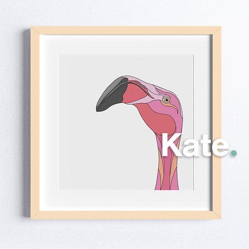 Original Flamingo print