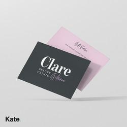 Clare Gilmore gift voucher