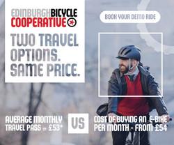 Edinburgh Bicycle Cooperative - Digital advert