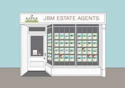 JBM Estate agents - Bespoke Graphic