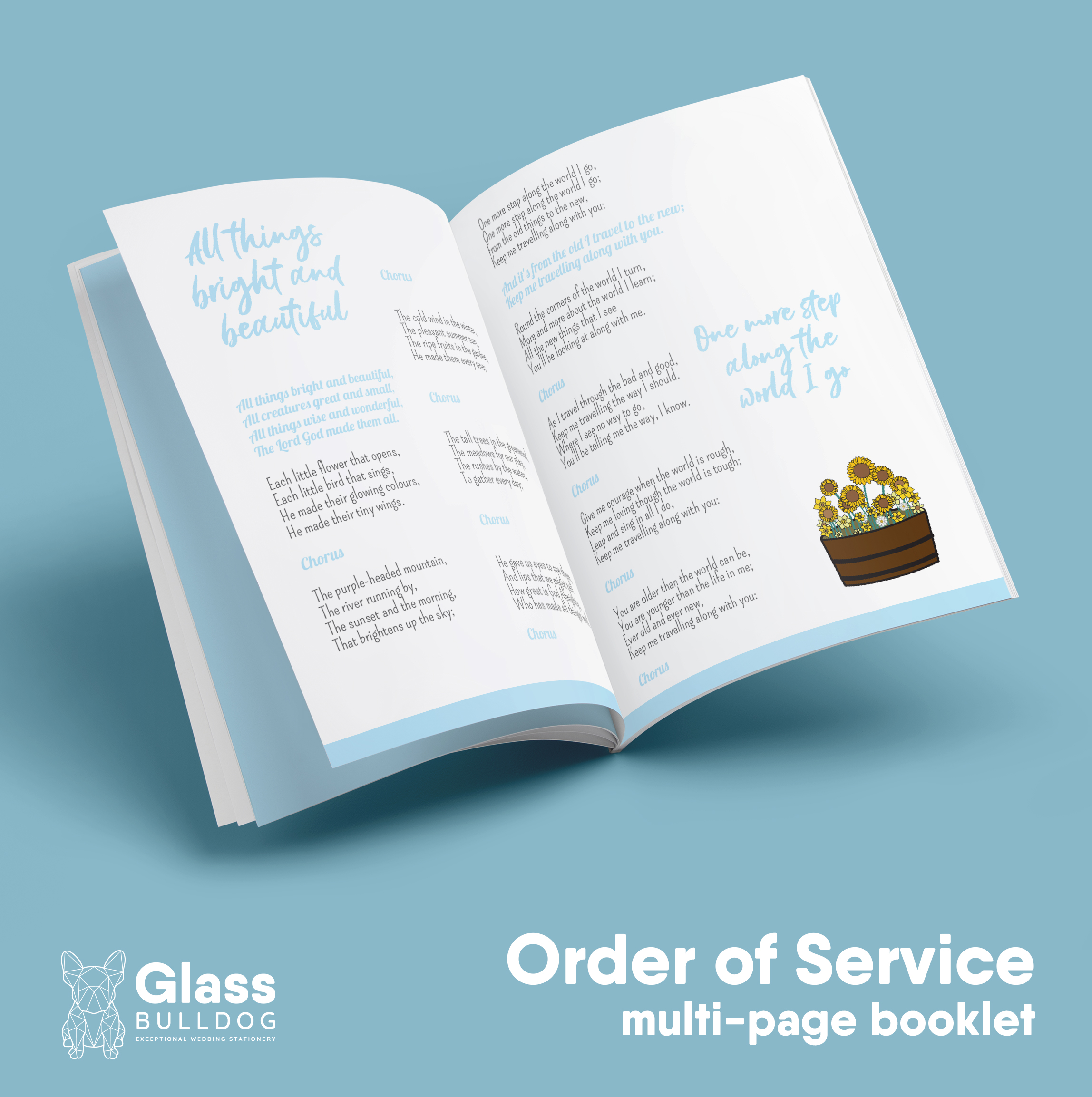 Order of Service booklet