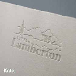 Little Lamberton - Headed paper