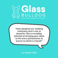Glass Bulldog review Liz 2018
