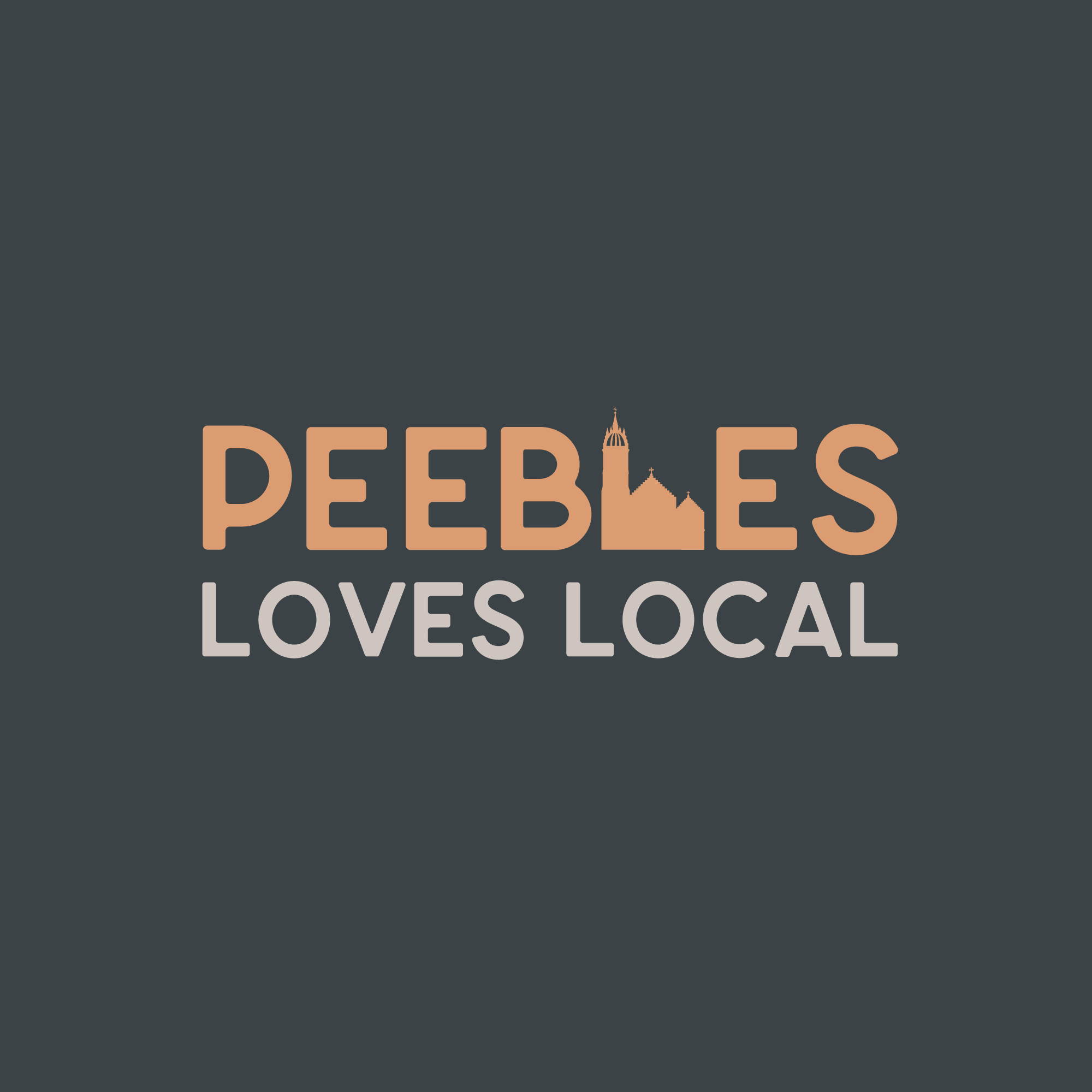 Peebles Loves Local Logo