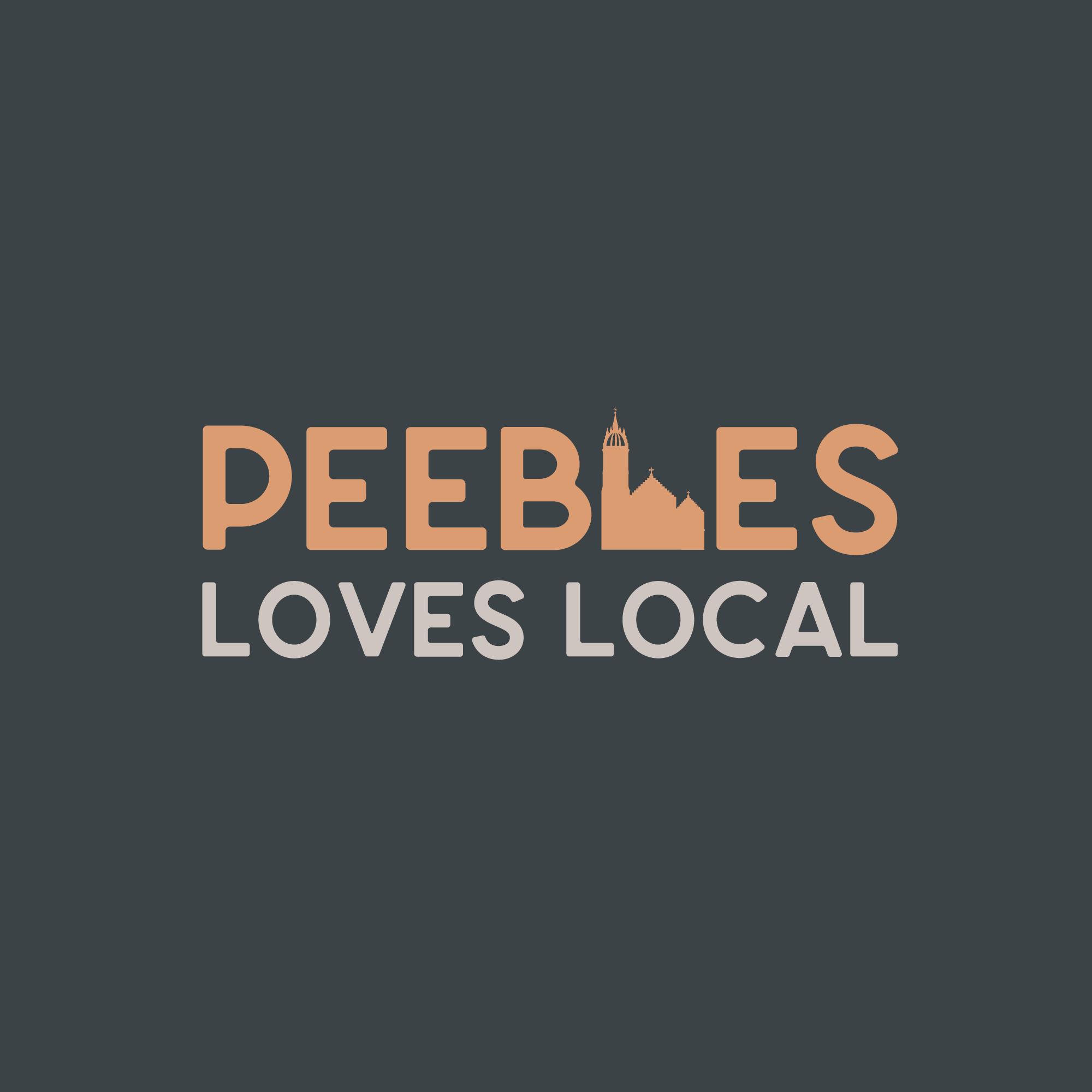 Peebles Loves Local Logo