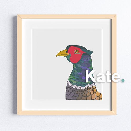 Original Pheasant print