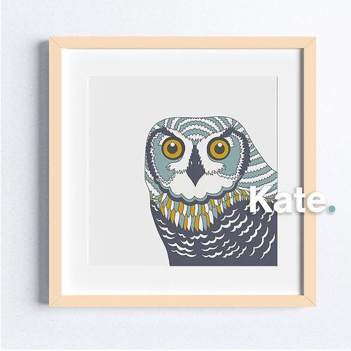 Original Owl print