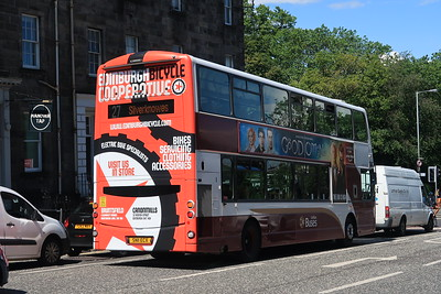 Edinburgh Bicycle Cooperative - Bus livery
