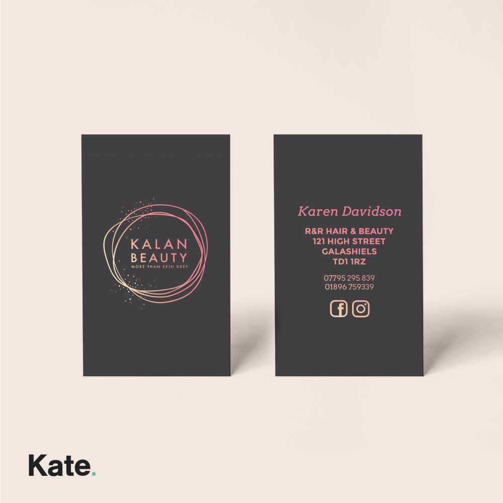 Kalan Beauty - Business Cards