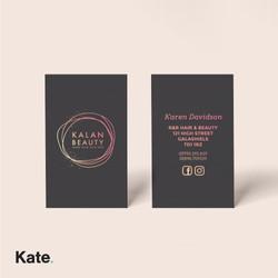 Kalan Beauty - Business Cards