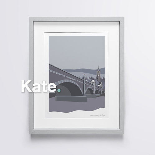 Original Tweed Bridge print